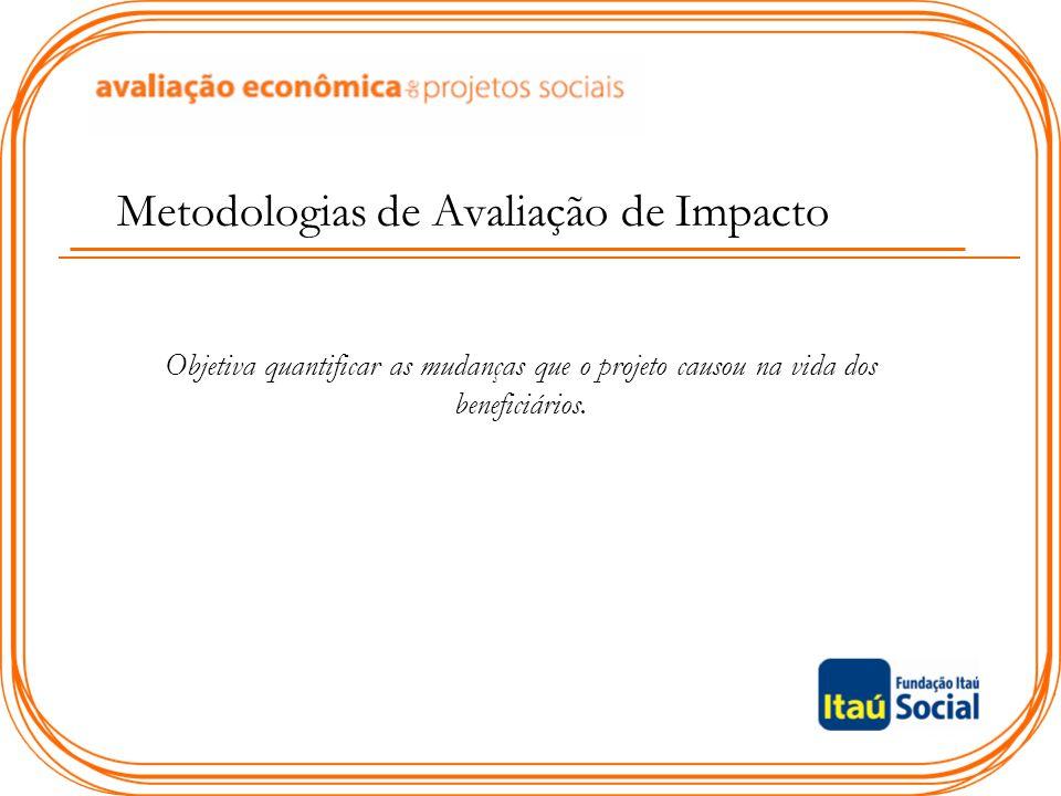 Metodologias de Avaliação de Impacto