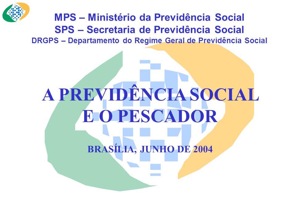 A PREVIDÊNCIA SOCIAL E O PESCADOR