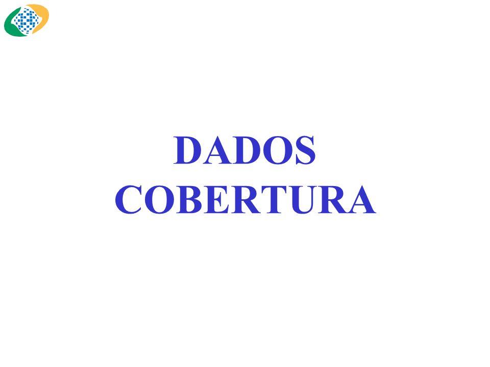 DADOS COBERTURA