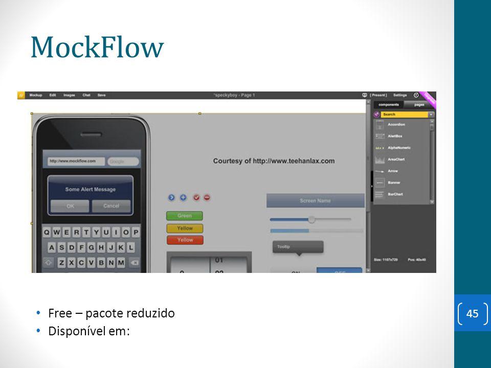 MockFlow Free – pacote reduzido Disponível em: