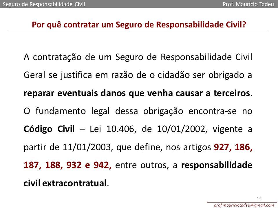 Por quê contratar um Seguro de Responsabilidade Civil