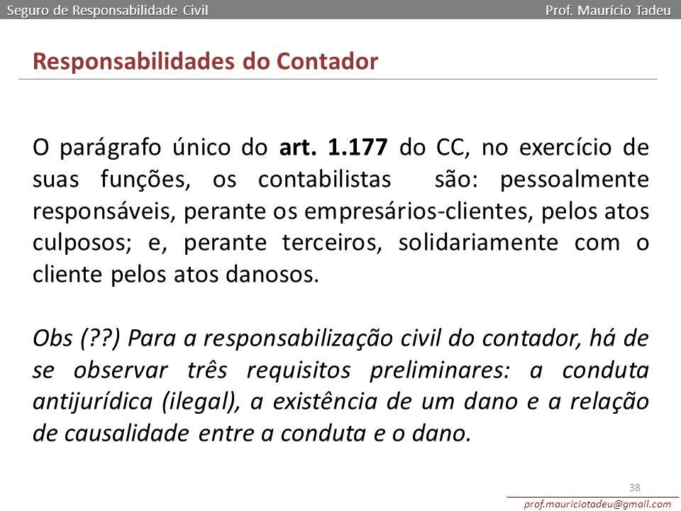 Responsabilidades do Contador