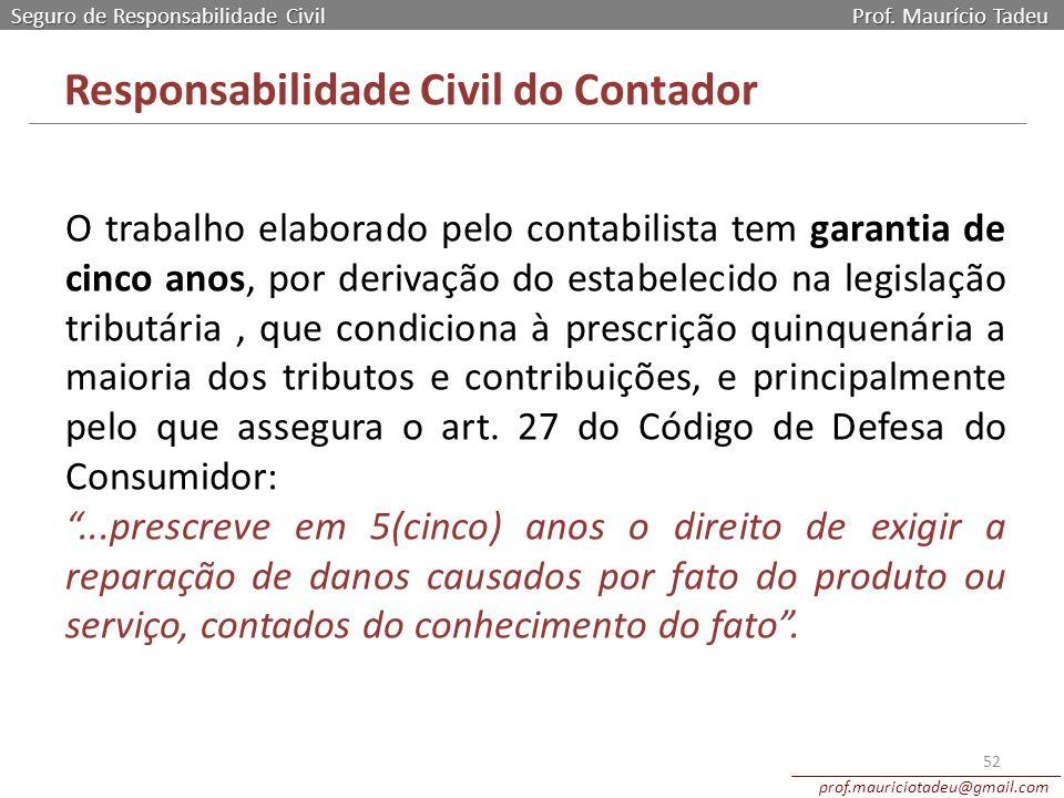 Responsabilidade Civil do Contador