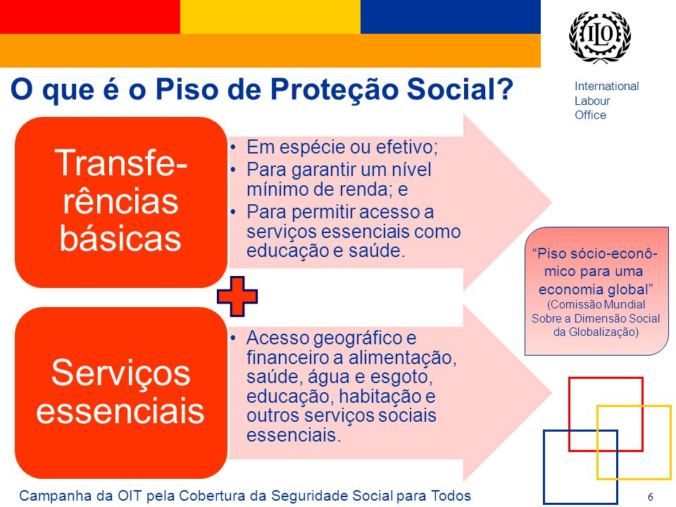 O que é o Piso de Proteção Social