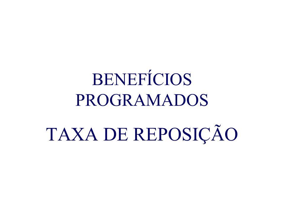 BENEFÍCIOS PROGRAMADOS