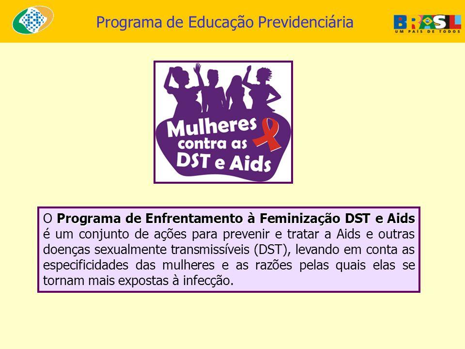 O Programa de Enfrentamento à Feminização DST e Aids é um conjunto de ações para prevenir e tratar a Aids e outras doenças sexualmente transmissíveis (DST), levando em conta as especificidades das mulheres e as razões pelas quais elas se tornam mais expostas à infecção.