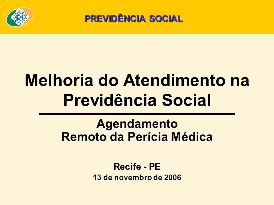 Melhoria do Atendimento na Previdência Social