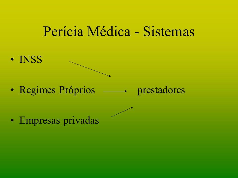 Perícia Médica - Sistemas