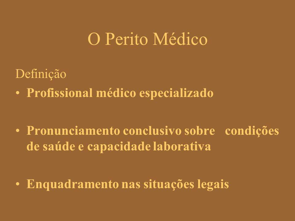 O Perito Médico Definição Profissional médico especializado