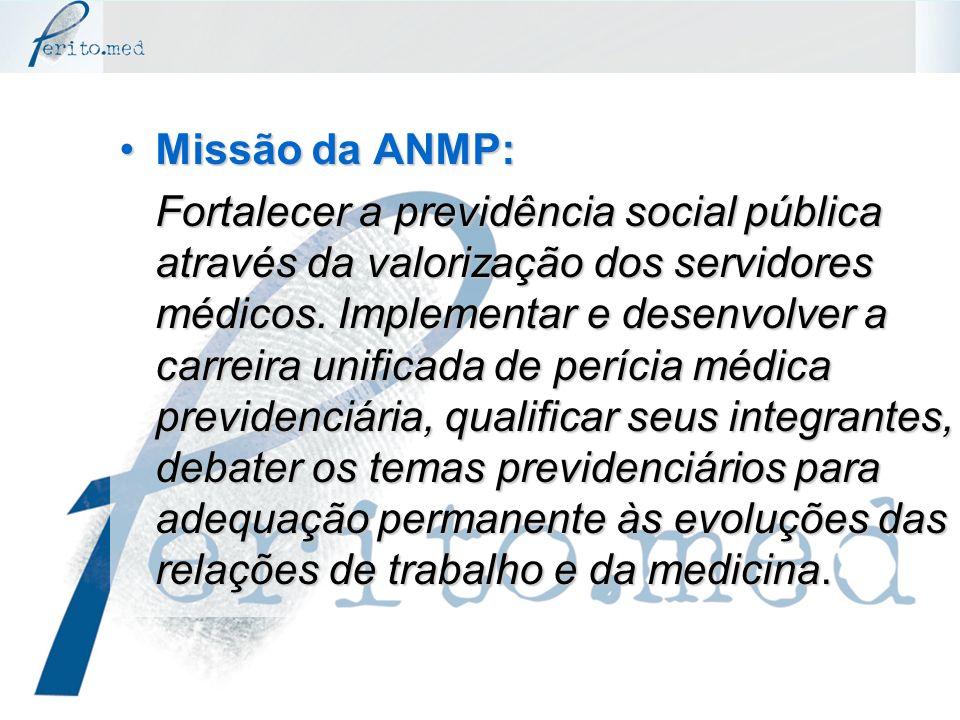 Missão da ANMP: