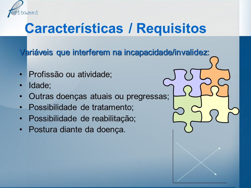 Características / Requisitos
