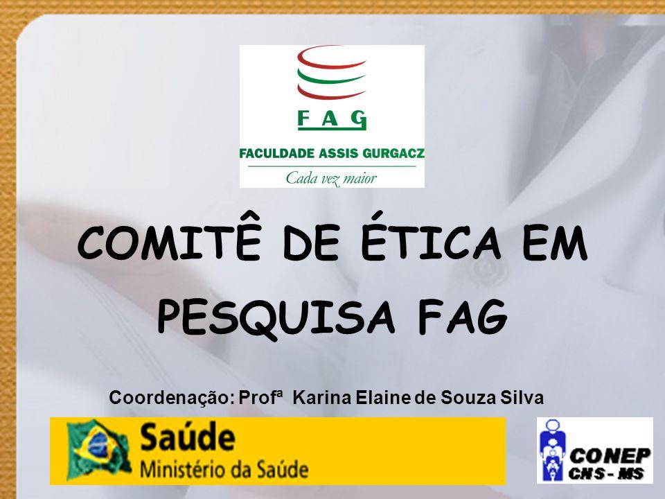 COMITÊ DE ÉTICA EM PESQUISA FAG