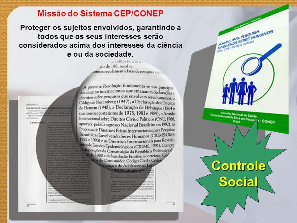 Missão do Sistema CEP/CONEP