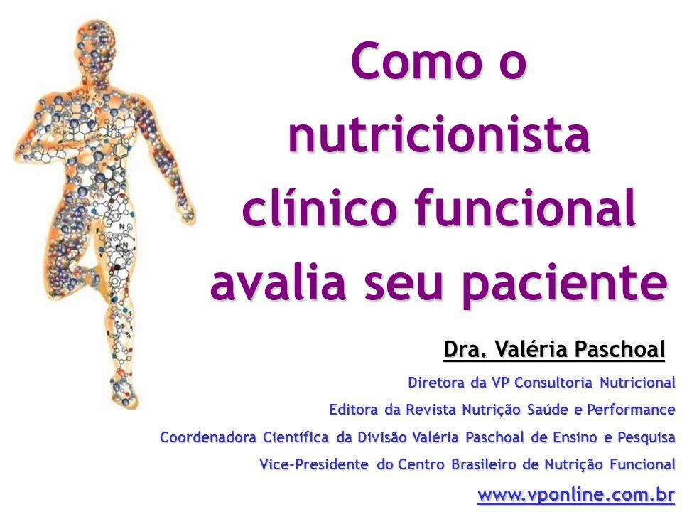 Como o nutricionista clínico funcional avalia seu paciente