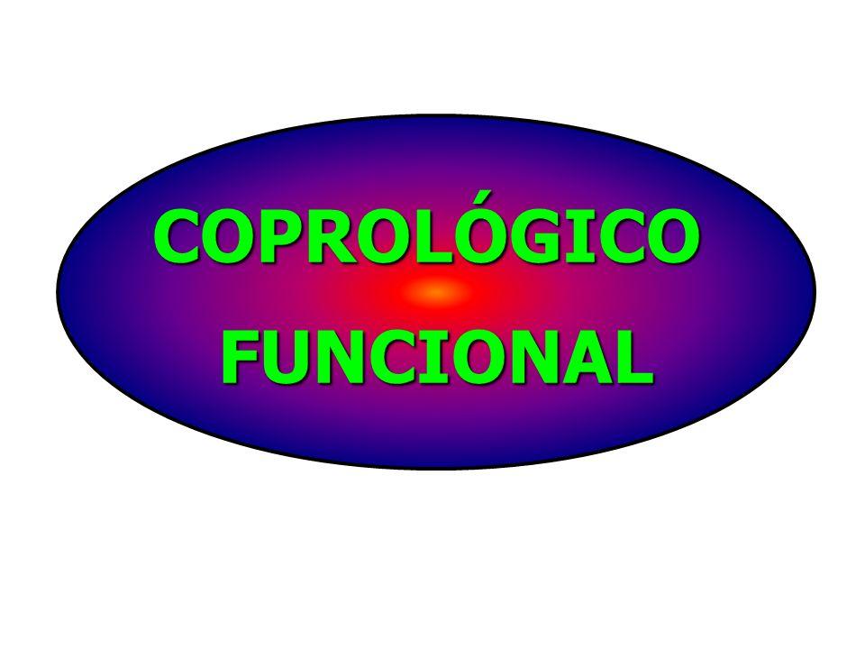 COPROLÓGICO FUNCIONAL