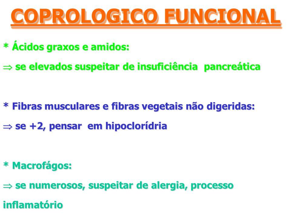 COPROLOGICO FUNCIONAL