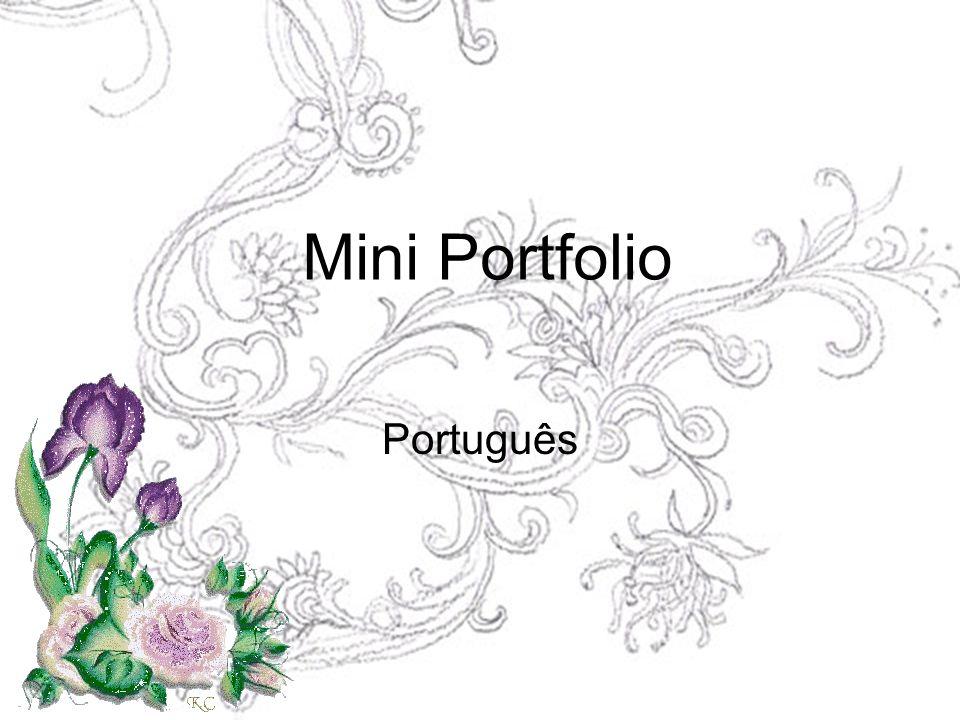 Mini Portfolio Português