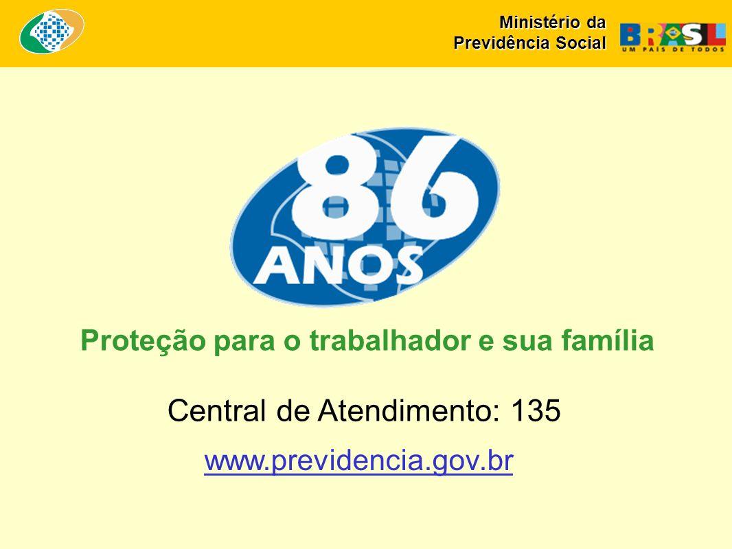 Proteção para o trabalhador e sua família