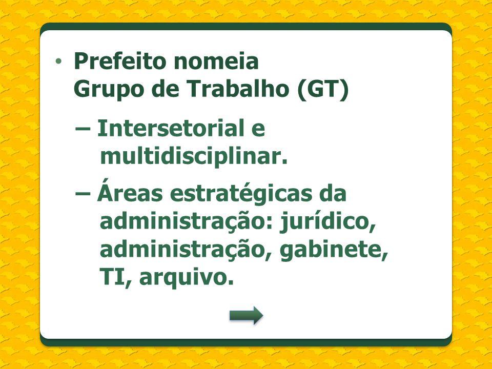 Prefeito nomeia Grupo de Trabalho (GT)