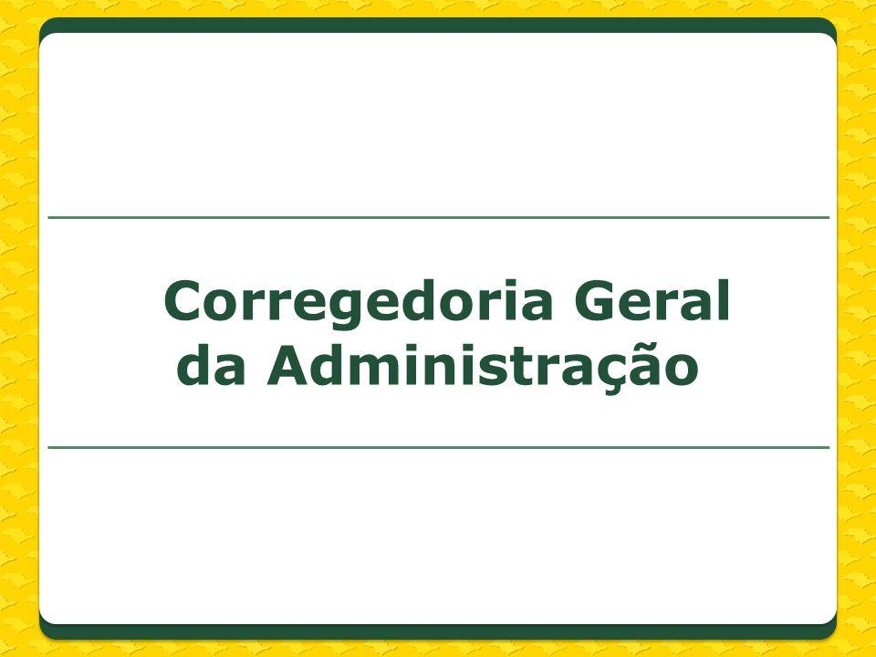Corregedoria Geral da Administração