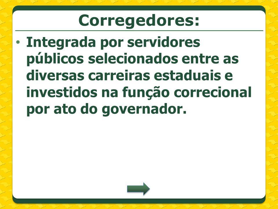 Corregedores: