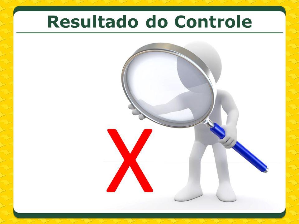 Resultado do Controle X