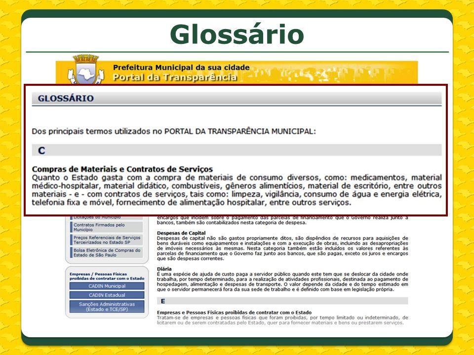Glossário