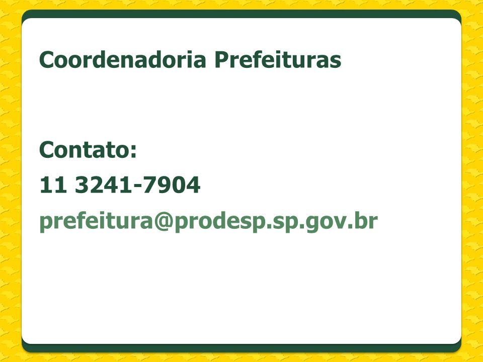 Coordenadoria Prefeituras