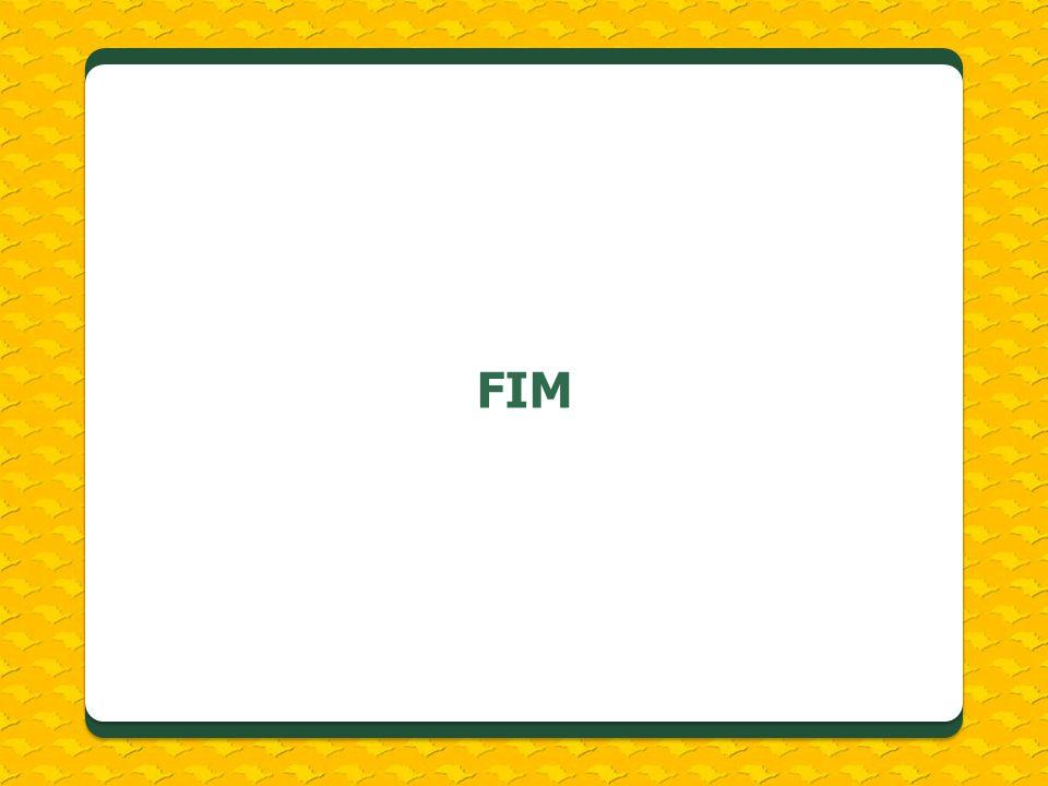 FIM Verificar datas.