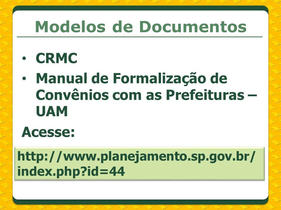 Modelos de Documentos CRMC