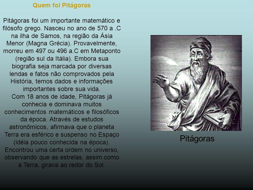 Pitágoras Quem foi Pitágoras