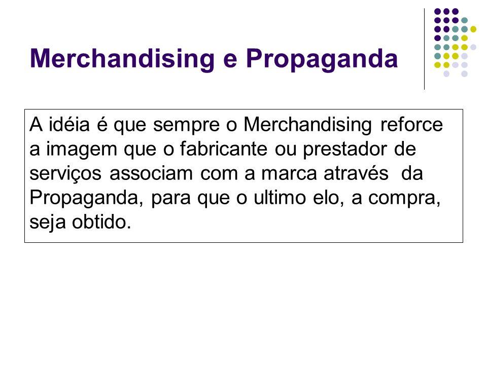 Merchandising e Propaganda