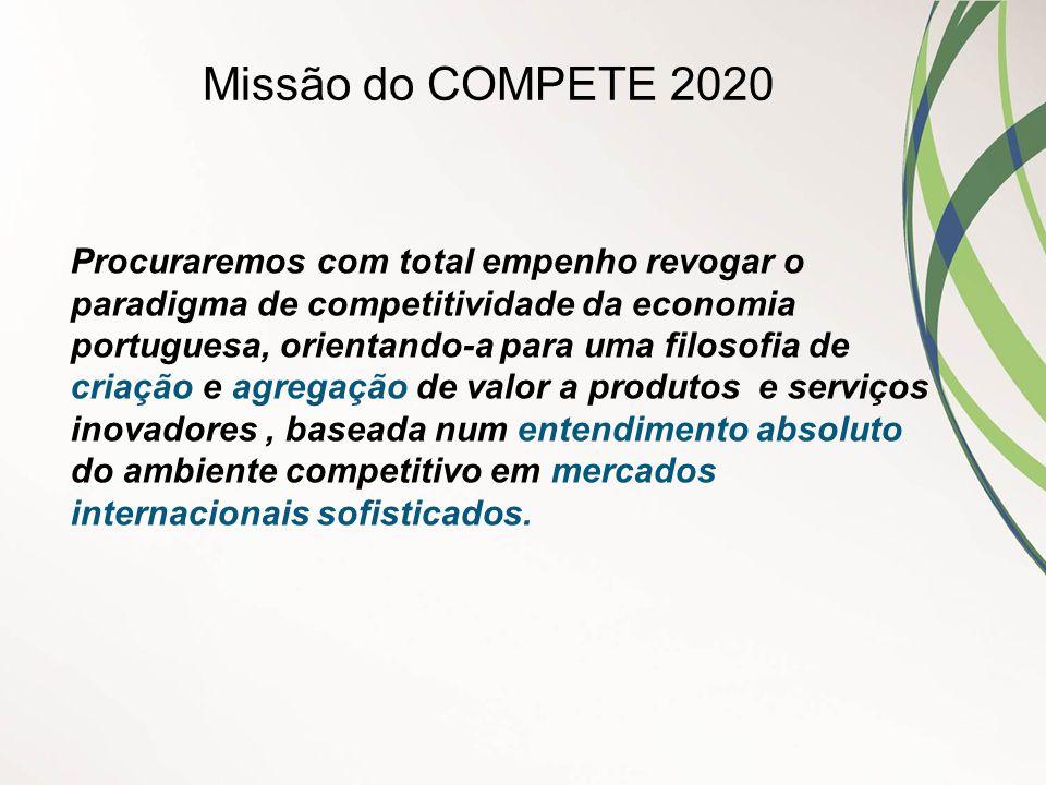 Missão do COMPETE 2020