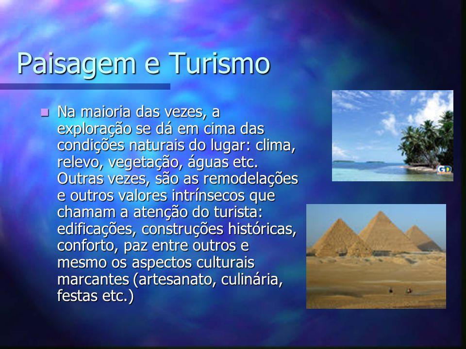 Paisagem e Turismo