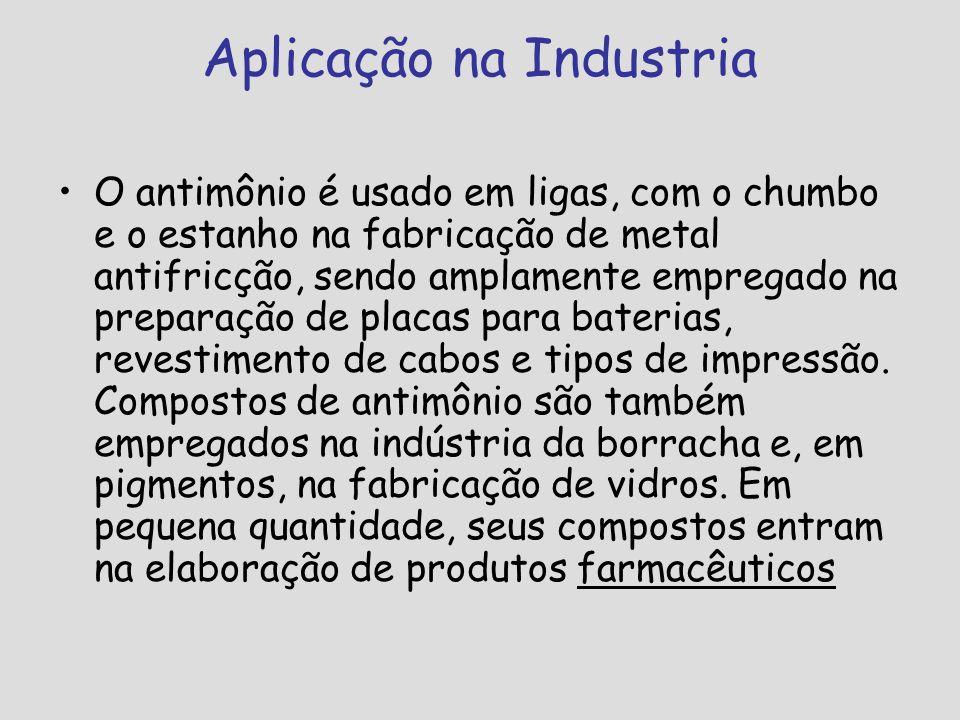 Aplicação na Industria