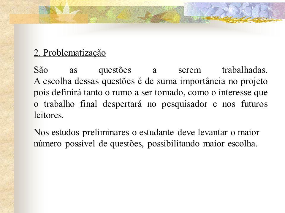 2. Problematização