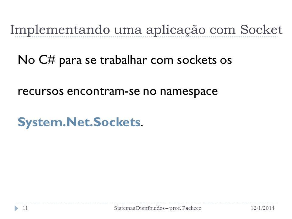 Implementando uma aplicação com Socket