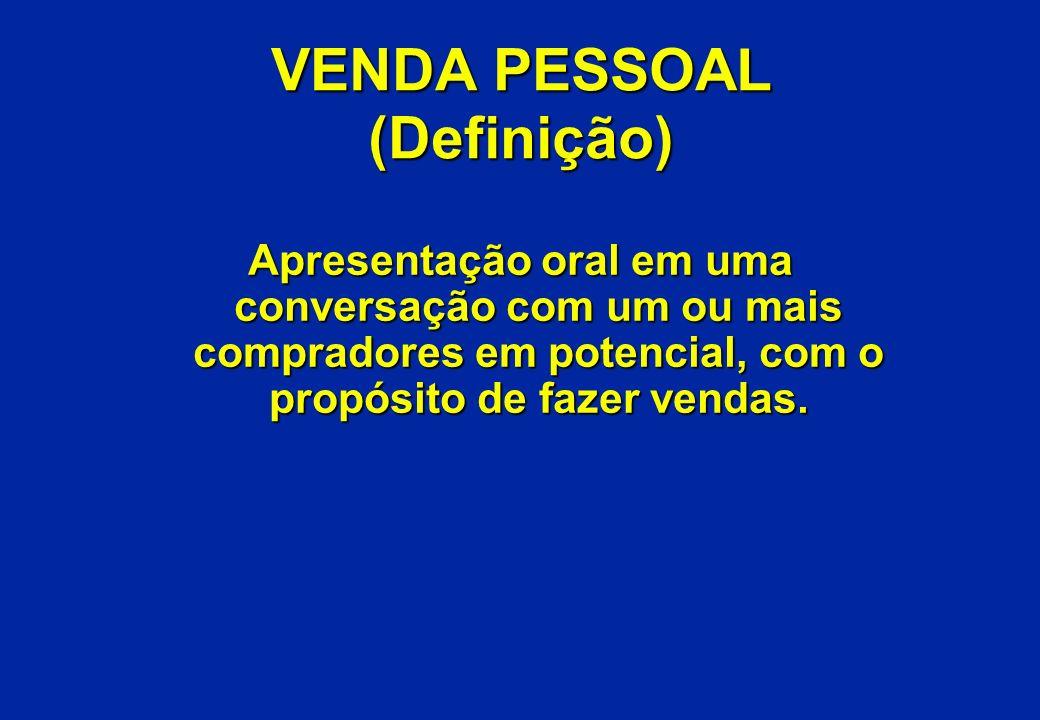 VENDA PESSOAL (Definição)
