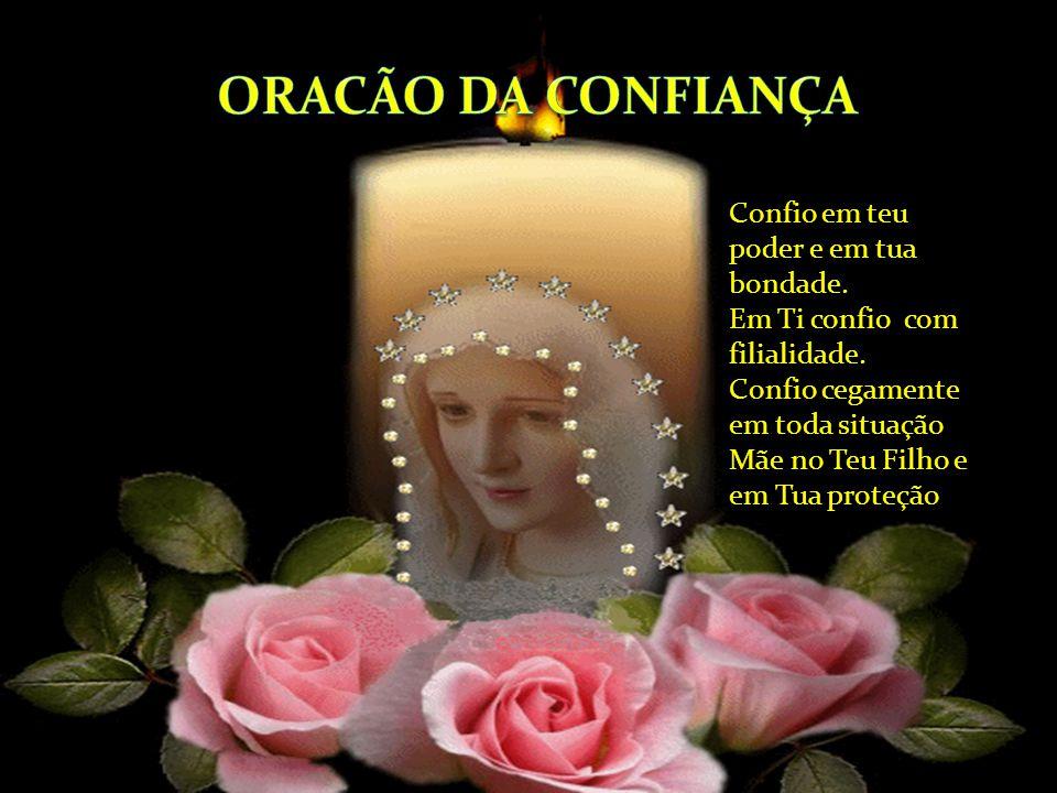 ORACÃO DA CONFIANÇA
