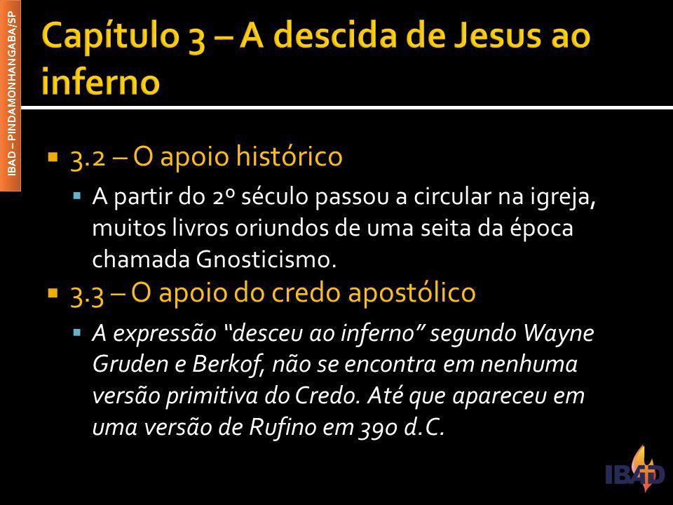 Capítulo 3 – A descida de Jesus ao inferno
