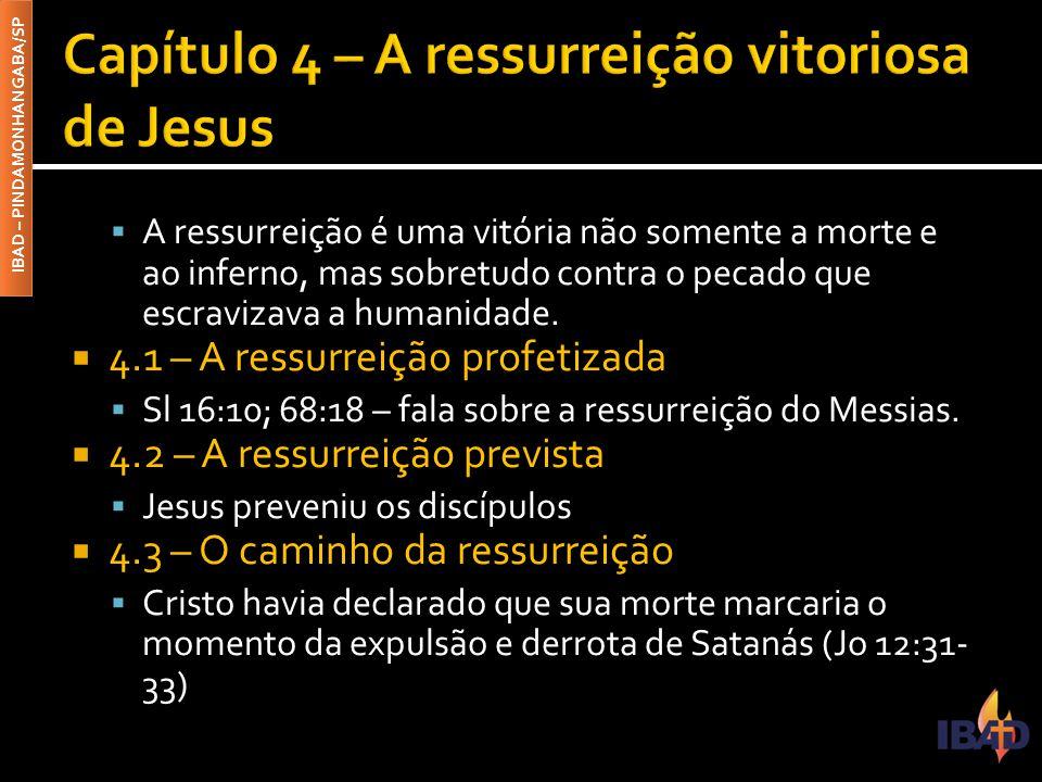 Capítulo 4 – A ressurreição vitoriosa de Jesus