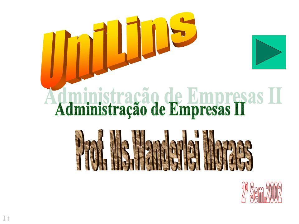 Administração de Empresas II