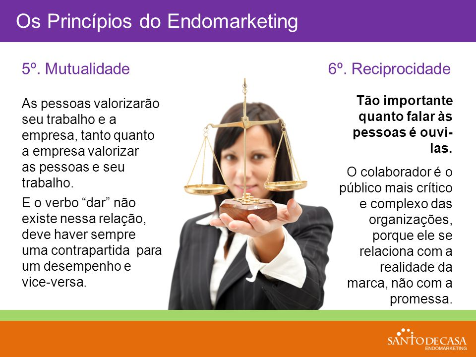 Os Princípios do Endomarketing