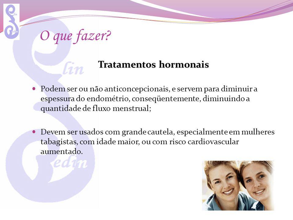 Tratamentos hormonais