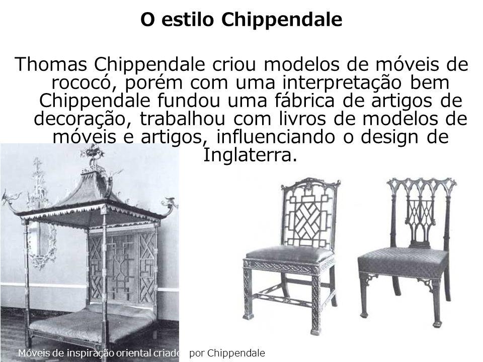 O estilo Chippendale