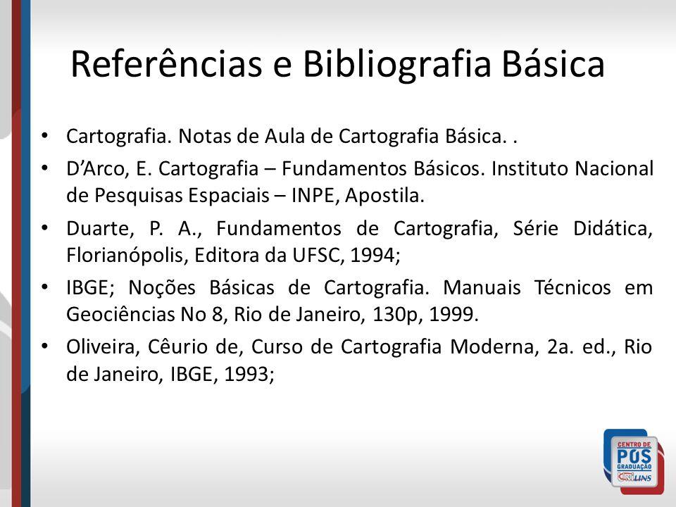 Referências e Bibliografia Básica