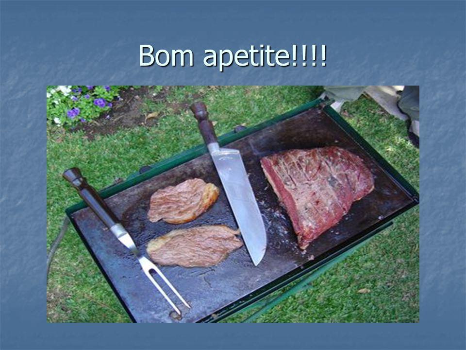 Bom apetite!!!!