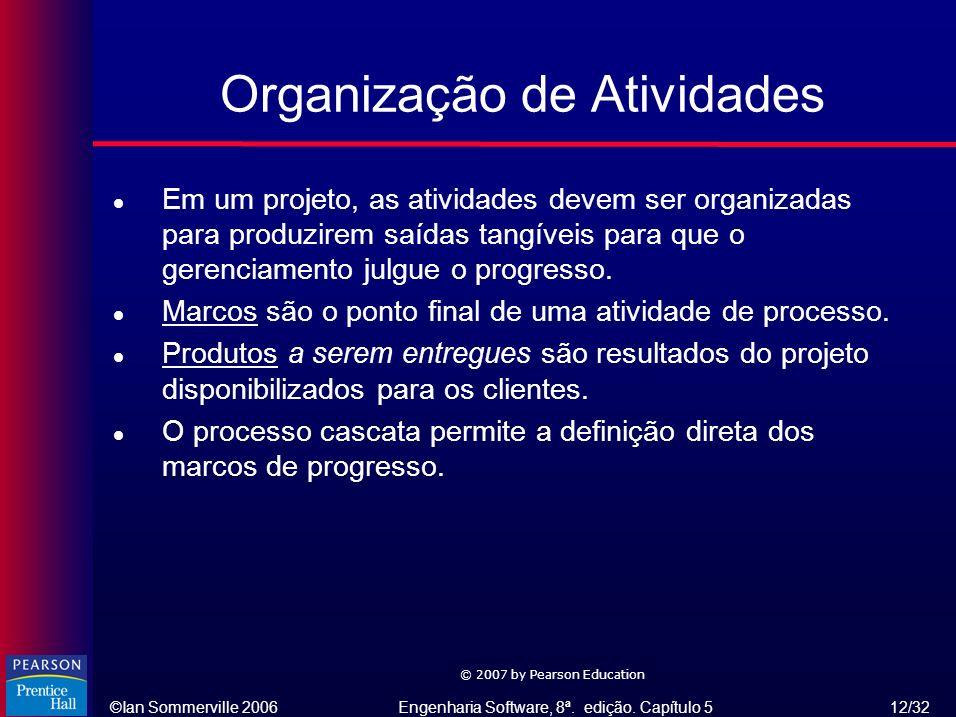 Organização de Atividades