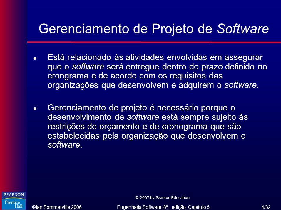 Gerenciamento de Projeto de Software