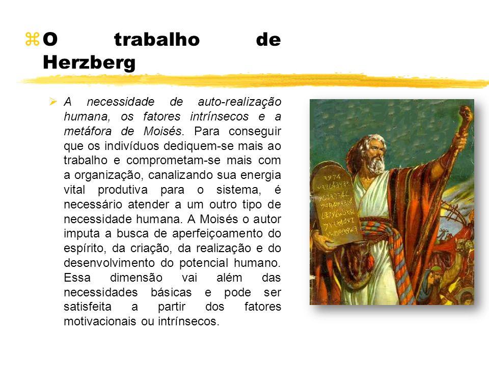 O trabalho de Herzberg